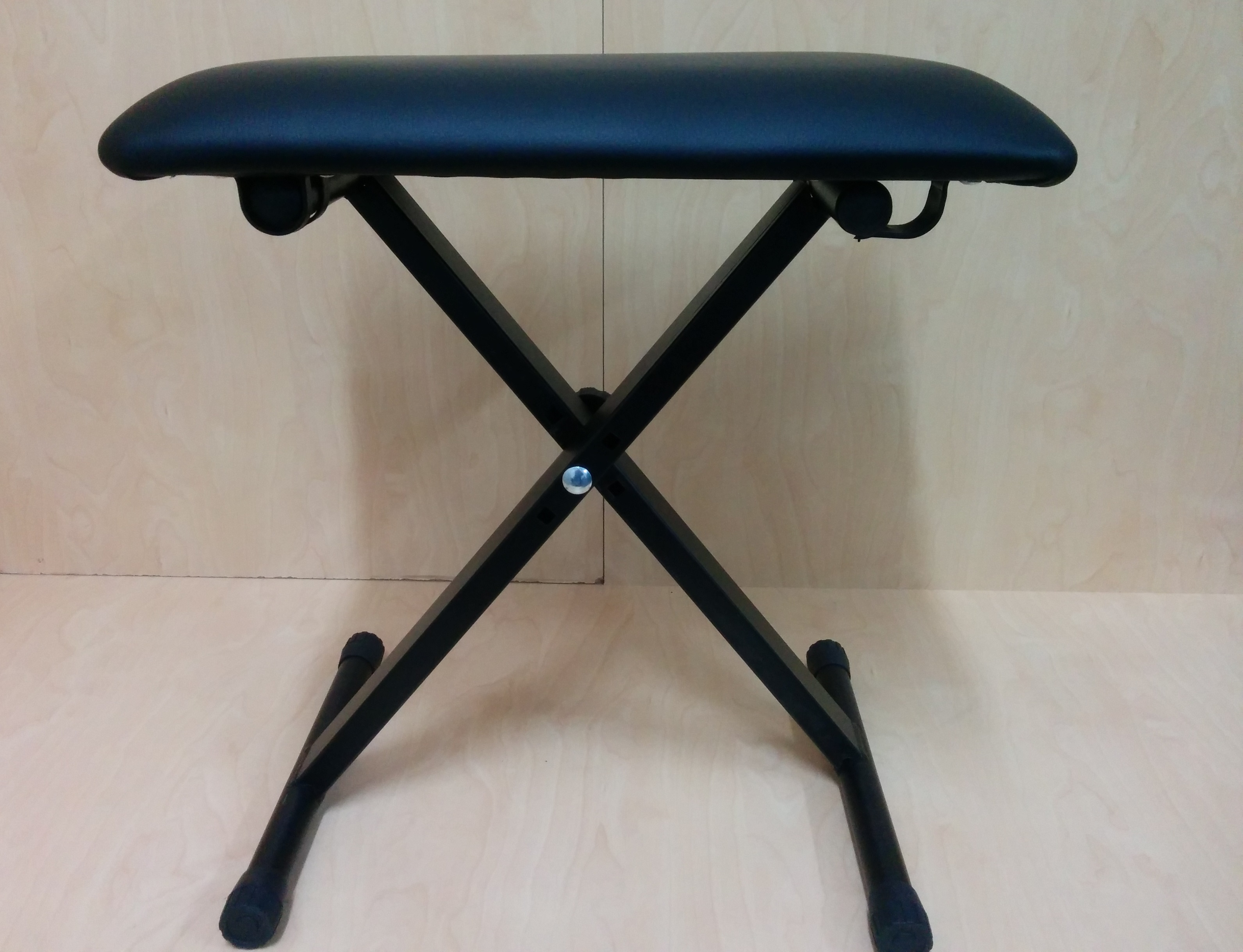Adjustable 3 Way Folding Keyboard Piano Stool Bench Seat