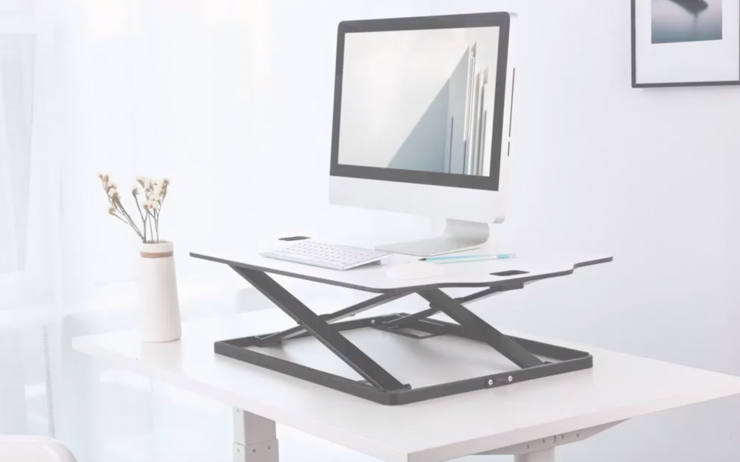 Check Out The Features Of This Standing Desk!